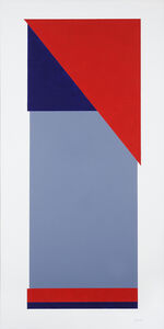 George Johnson, 'Red Triangle Construction No. 1', 1998-1999