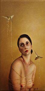 Rozi Demant, 'Golden Hummingbird', 2018