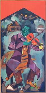 Alexander Kosolapov, 'Fiddler on the roof', 1985