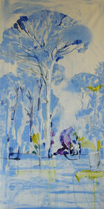 Laura Federici, 'Spring ultramarine blue', 2020