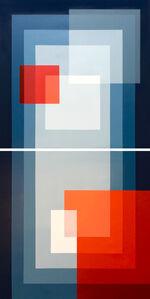 Salvador Santos, 'Seashell duality (diptych)', 2019
