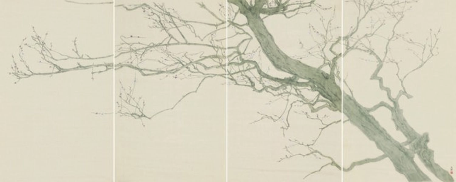 Gao Qian 高茜, 'Rocks and Branches No.3', 2018