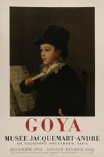 Goya, Musee Jacquemart Andre Rare Poster