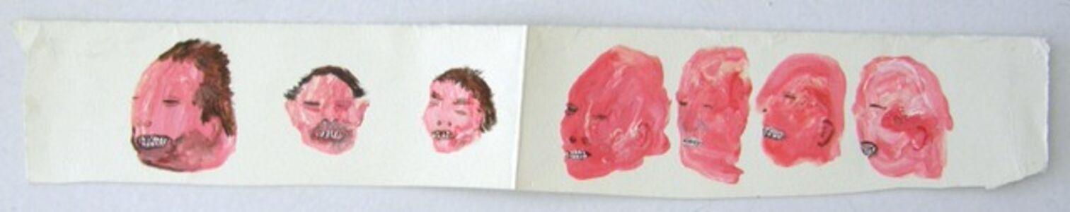 Francis Upritchard, 'Head Strip Drawing', 2002
