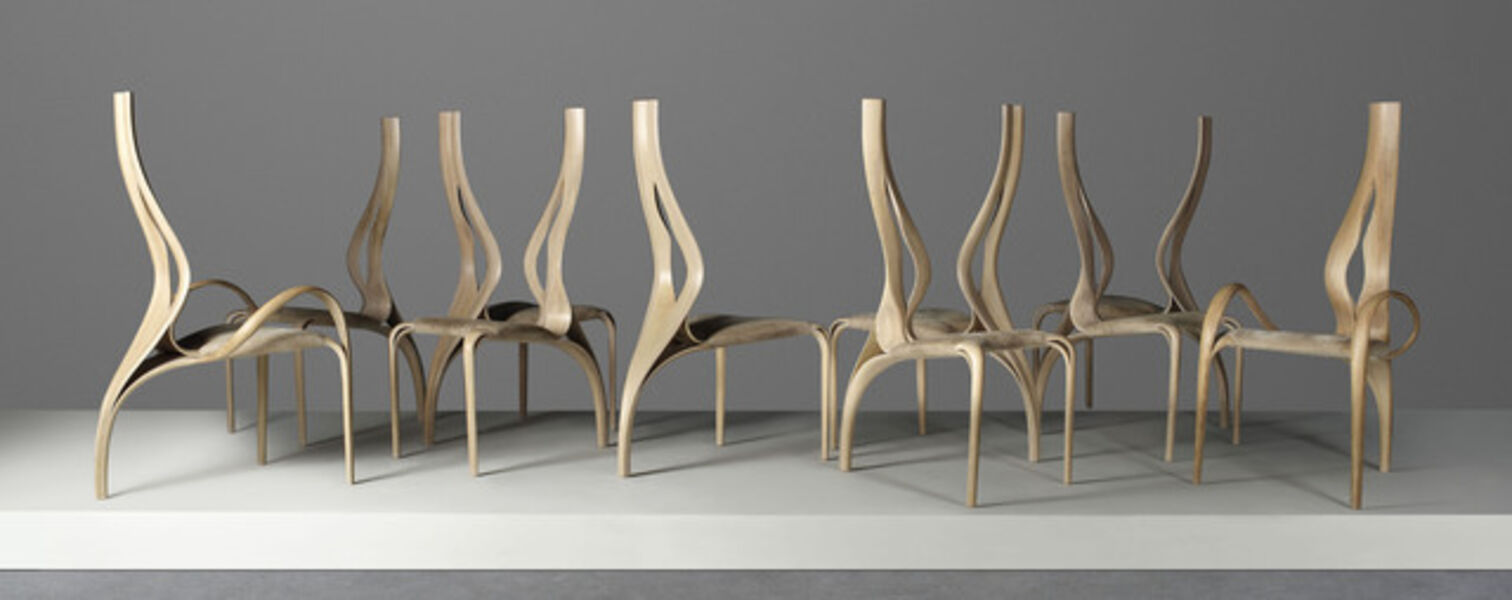 Joseph Walsh, 'A unique set of ten 'Enignum I' chairs', 2008