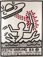 Keith Haring, 'Galerie Watari Poster', 1983