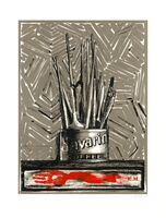 Jasper Johns, 'Savarin', 1977-1981