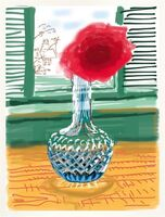 David Hockney, 'iPAD Drawing – My Window. No. 281 | Do remember they can't cancel the spring', 2010