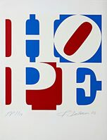 Robert Indiana, 'Hope, from Artists for Obama', 2008