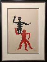Alexander Calder, 'Acrobats', 1975