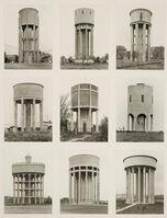 Bernd and Hilla Becher, 'Nine Water Towers'