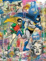 Mr. Brainwash, 'Batman and Robin (CMN19063)', 2019