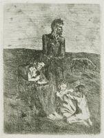Pablo Picasso, 'Les Pauvres', 1905