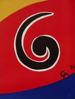 Alexander Calder, 'Sky Swirl (Flying Colors Collection)', 1974