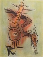 Wifredo Lam, 'Belle Epine, from Pleni Luna ', 1974
