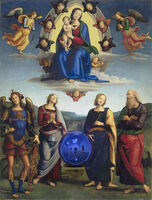 Jeff Koons, 'Gazing Ball (Perugino Madonna and Child with Four Saints)', 2017