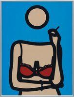 Julian Opie, 'Ruth with Cigarette 4 (Artist Proof)', 2005