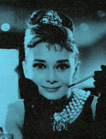 Russell Young, 'Audrey Hepburn (Tiffany Blue)', 2017