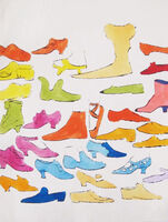 Andy Warhol, 'A la Recherche du Shoe Perdu (cover verso)', 1955