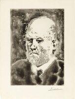 """Pablo Picasso, '""""Portrait de Vollard I"""" ', 1937"""