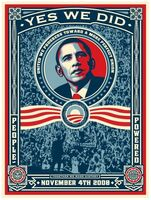 Shepard Fairey (OBEY), 'OBAMA - YES WE DID!', 2008