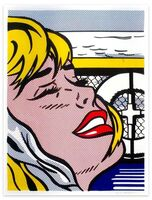 Roy Lichtenstein, 'Shipboard Girl - Original Lithograph by Roy Lichtenstein - 1965', 1965