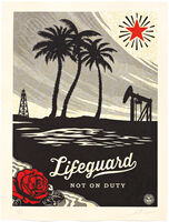 Shepard Fairey (OBEY), 'Lifeguard Not on Duty ', 2015