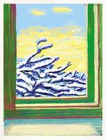 David Hockney, 'Snow Window iPad drawing No. 610', 2010