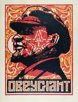Shepard Fairey (OBEY), 'Lenin Stamp', 2018