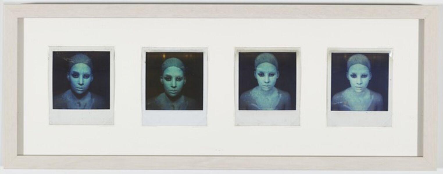 Yeni & Nan, 'Transfiguración elemento tierra', Performed in Caracas-September 1983