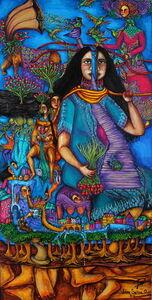 Juana Sabina Ortega, 'Cambio de tiempo / Recortando los dias', 2016