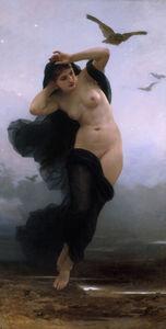William-Adolphe Bouguereau, 'Night (La Nuit)', 1883