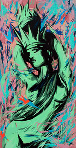 See One, 'Miss Liberty', 2014