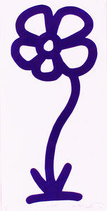 Michael De Feo, 'Violet, 15 Anniversary Flower Print Series (Rainbow/Roy G. Biv Series)', 2007