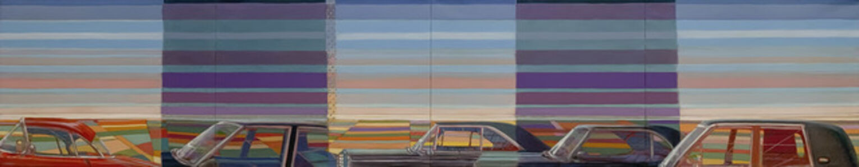 Greg Drasler, 'Occasional Rain/ Driverless Car', 2020