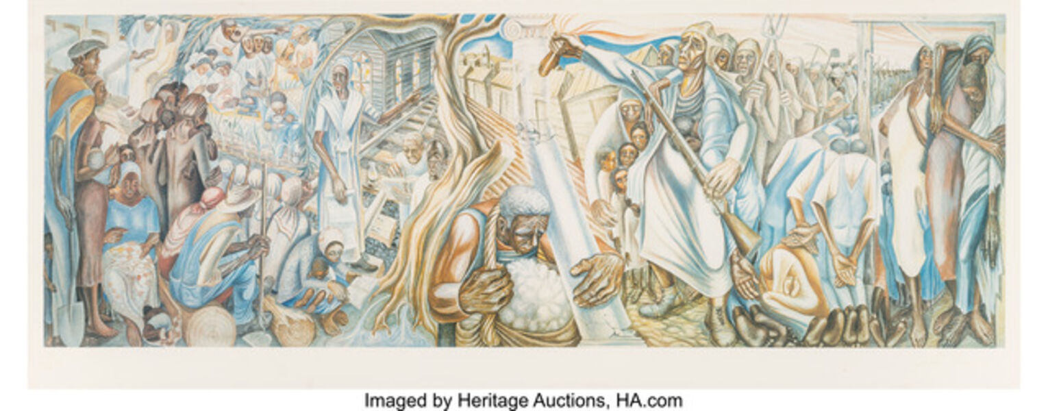 John Thomas Biggers, 'The Contribution of Negro Women to American Life and Education', 1994