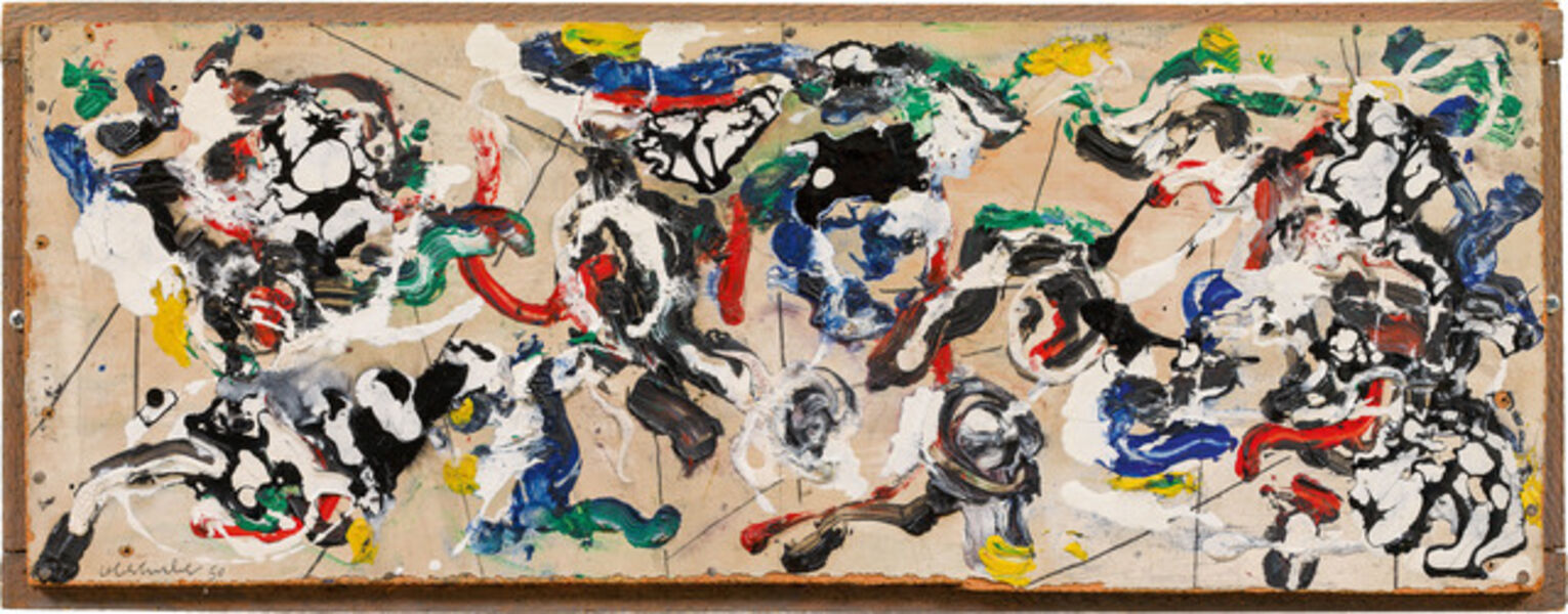 Oswald Oberhuber, 'untitled', 1950