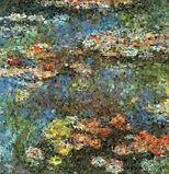 Water Lilies, after Claude Monet