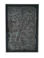"""Keith Haring, 'Untitled NYC Subway Drawing """"Spaceship Attacks""""', 1980-1985"""