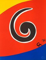 "Alexander Calder, '""Sky Swirl"", The Flying Colors Collection', 1974"