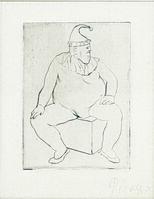 Pablo Picasso, 'Le Saltimbanque au Repos', 1905