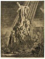 Rembrandt van Rijn, 'The Descent from the Cross: Second Plate', 1633