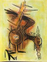 """Wifredo Lam, 'Belle épine - from the suite """"Pleni Luna""""', 1974"""
