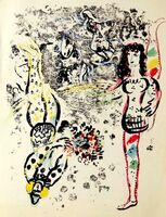 Marc Chagall, 'Le Jeu des Acrobates Portfolio: Lithographs Book II', 1963