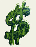 Andy Warhol, 'Single Dollar Sign (F&SII.278)', 1982