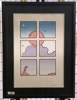 Peter Max, 'Landscape Through Window', 1978