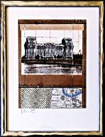 Christo, 'Wrapped Reichstag, Berlin', 1994
