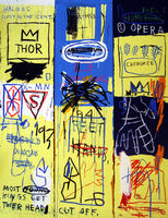 Jean-Michel Basquiat, 'Charles The First'