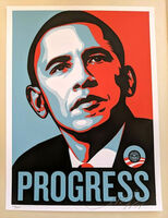 Shepard Fairey (OBEY), 'PROGRESS (Obama)', 2008