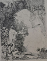 Rembrandt van Rijn, 'The Raising of Lazarus: The Small Plate', Etched in 1642, Printed in 1906 (Beaumont, Paris)